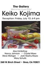 Guest artist Keiko Kojima,