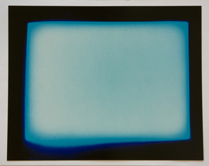 TV static photogram #5 (positive), Aspen Mays