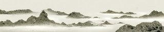 Gu Shan 3. Diptych, Wang Tiande