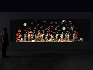 Installation View, Marcel Dzama