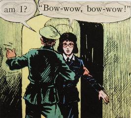 Untitled (Kapitan Kloss #54), Richard Kraft