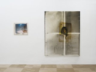 Poesie auf gut Glück (left), Permanent Make Up (right),David Ostrowski