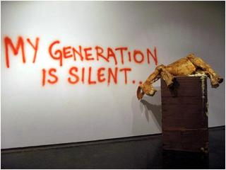 My generation is silent, siddhartha kararwal