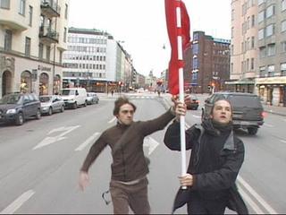 Farbtest, Die Rote Fahne II , Felix Gmelin