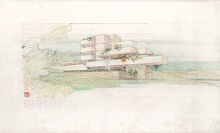 Cottage Studio for Ayn Rand, Frank Lloyd Wright
