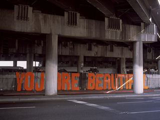 Olympic Blvd. and 10 Freeway Underpass, Downtown Los Angeles, Stephanie Allespach