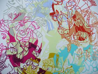 Vortex Series (detail), Denise Despirito