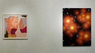 Installation view of Group Show,