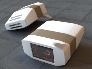 3D Render of AIR Device, Preemptive Media