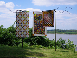 Quilts on a Line, Greely Myatt