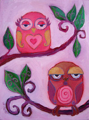 Mr and Mrs Owl, Gayle Wheatley