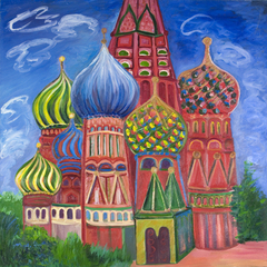 St. Basil\'s Cathedral,