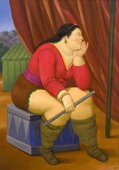 Circus Woman, Fernando Botero