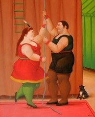 Circus Couple, Fernando Botero