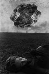 Magritte\'s Touchstone, Jerry Uelsmann