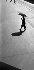 Braided Woman Crossing, Fan Ho