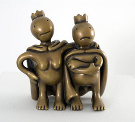 Free Thinkers (small), Tom Otterness