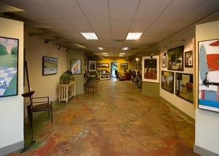 Kevin Milligan Gallery Interior, Greg Mottin