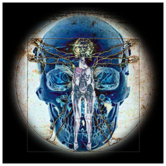 Vitruvian Man, Richard Ehrlich