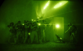 Untitled (Special Forces Raid), Michael Watkins