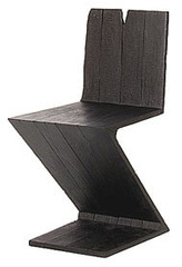 Where There\'s Smoke: Zig Zag Chair (Rietveld), Maarten Baas