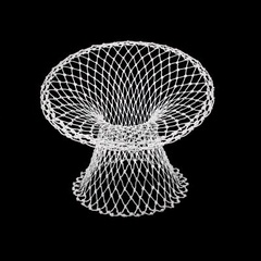 Fishnet Chair, Marcel Wanders