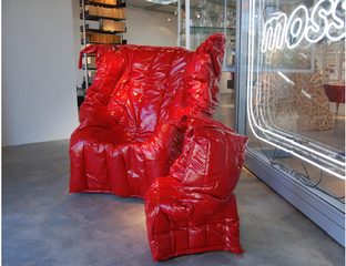 Shadow Chair,Gaetano Pesce