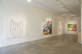 Wet Paint: Ten Young LA Artists,Installation view