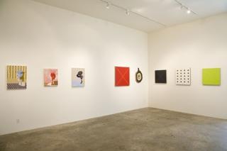Wet Paint: Ten Young LA Painters, Installation view