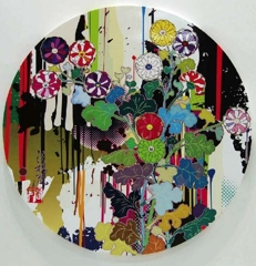 I Recall The Time When My Feet Lifted Off The Ground, Ever So Slightly. – Kôrin – Chrysanthemum, Takashi Murakami