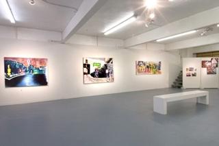 View of James Scott\'s paintings, Michael Giancristiano, James P. Scott