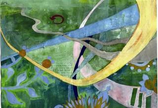 Blue Leaves, Anna Vaughan