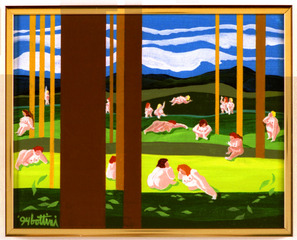 Sunday in the Park, Ivy Bottini
