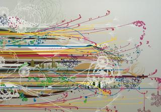 sidestream + everything (detail), Benicia Gantner