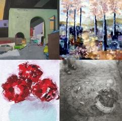 Streetscapes, Landscapes, Still Lives, Claire Seidl, Valentina Dubasky, Helen Herder, Catherine Ramey