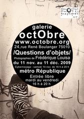 # Questions d\'objets #, Frédérique Louisa