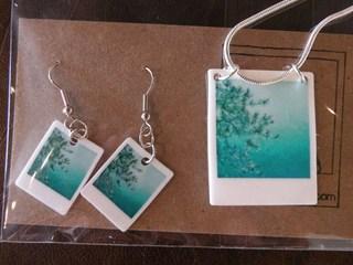 Polaroid Jewelry , Lauren Beacham