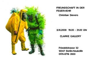 Invite for Freundschaft in der Feuerwehr, Christian Sievers