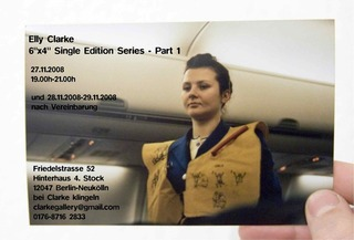 Invitation to the 6x4 Single Edition Series, Elly Clarke