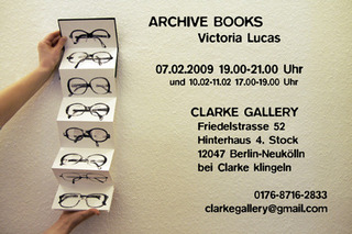 Invitation for Archive Books, Vicky Lucas