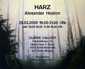 Invitation for HARZ, Alex Heaton