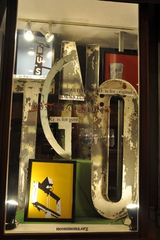 alpha gents display using MONA letters, ChadMichael Morissette