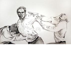 Stiff Arm #1, Justin Francavilla
