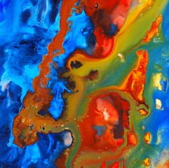 (Detail) Liquid Abstract, Michelle de Metz