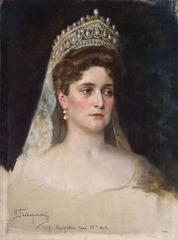 Portrait of Tsarina Alexandra Feodorovna, Nikolai Bodarevski