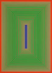 Blue Eye, Richard Anuszkiewicz