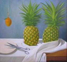 Pineapples with Scissors, Edgar Soberón