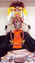 Mictlantecutli - Mexican God of the Underworld, Alejandra Hernandez