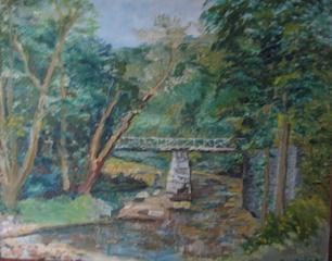 Woodland Scene, Frances Sawtelle Miller