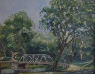 Silver Bridge at Falls River, Frances Sawtelle Miller